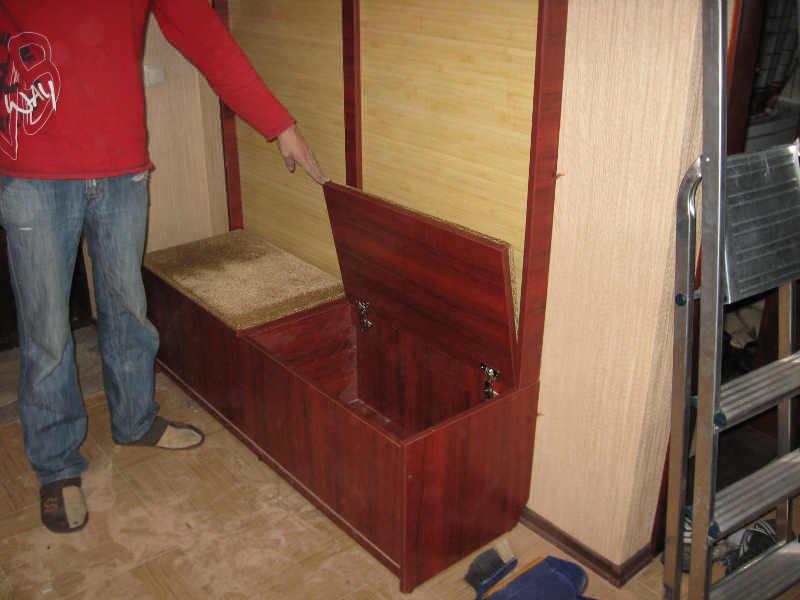 Мебель своими руками для прихожей из старой мебели 441